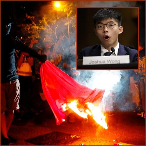 """InPics&Clip: ตำรวจฮ่องกงยิงแก๊สน้ำตา-กระสุนน้ำใส่ฝูงผู้ประท้วงใกล้สนง.ใหญ่กองทัพปลดแอกจีน – """"โจชัว หว่อง"""" ท้าทายจักรพรรดิสี เตรียมลงเลือกตั้ง"""