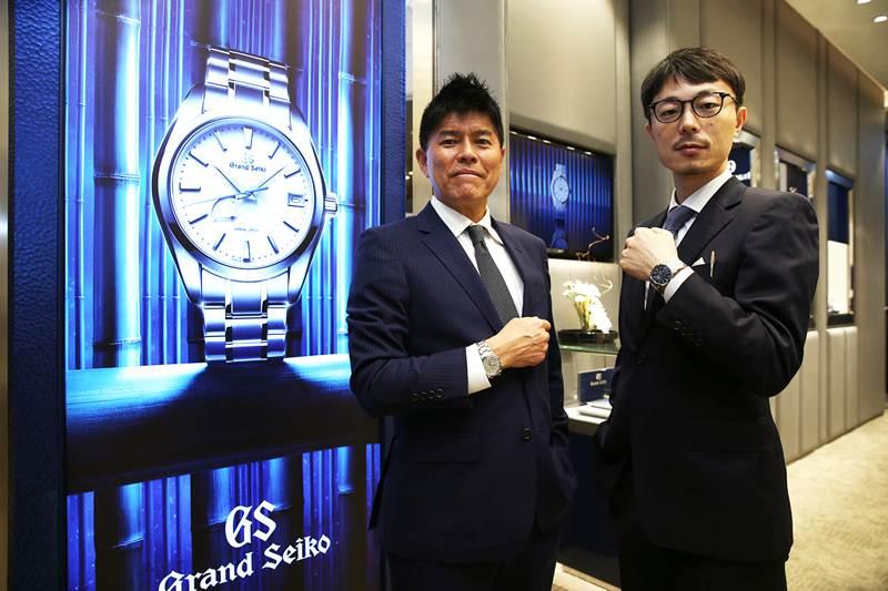 แกรนด์ โอเพนนิ่ง บูติกนาฬิกาแกรนด์ ไซโก แห่งแรกในเอเชียตะวันออกเฉียงใต้