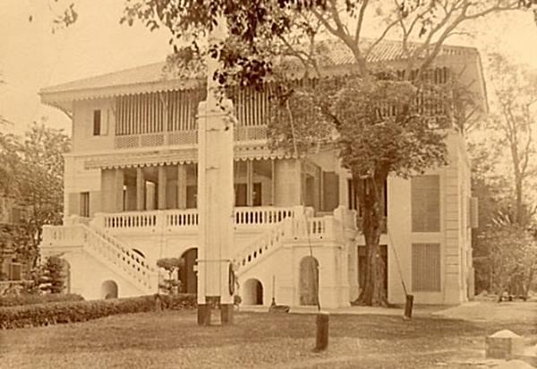 สถานทูตฝรั่งเศสในอดีต
