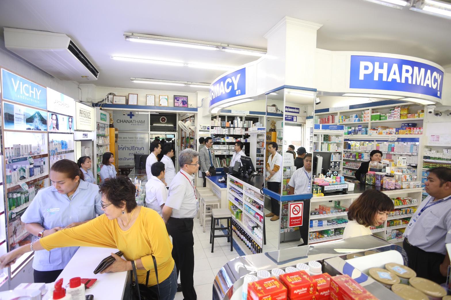 สระบุรีนำร่อง 4 รพ. จ่ายยาผ่าน 22 ร้านยาลดแออัด รองรับผู้ป่วย 1.06 หมื่นคน พร้อมเริ่ม 1 ต.ค.