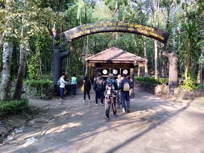 หนุ่มพัทลุงพิชิตยอดภูกระดึงคนแรกประเดิมวันเปิดป่าปี 62