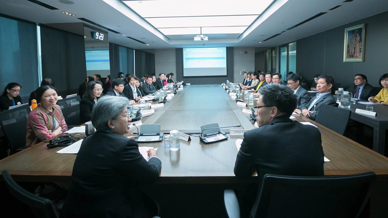 ก.ล.ต. ประชุมร่วม FETCO ประจำไตรมาส เพื่อร่วมมือพัฒนาตลาดทุนไทย