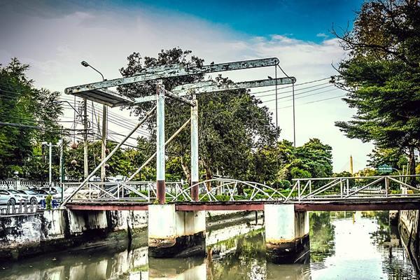 สะพานเสี้ยวแพร่งนราในปัจจุบัน