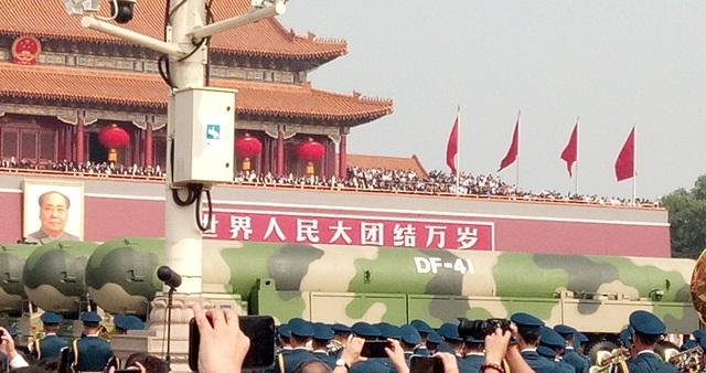 จีนโชว์ขีปนาวุธทรงพลานุภาพที่สุดของประเทศ DF-14 และอาวุธใหม่อื่นๆอีกเพียบในพาเหรดวันชาติจีนปีที่ 70