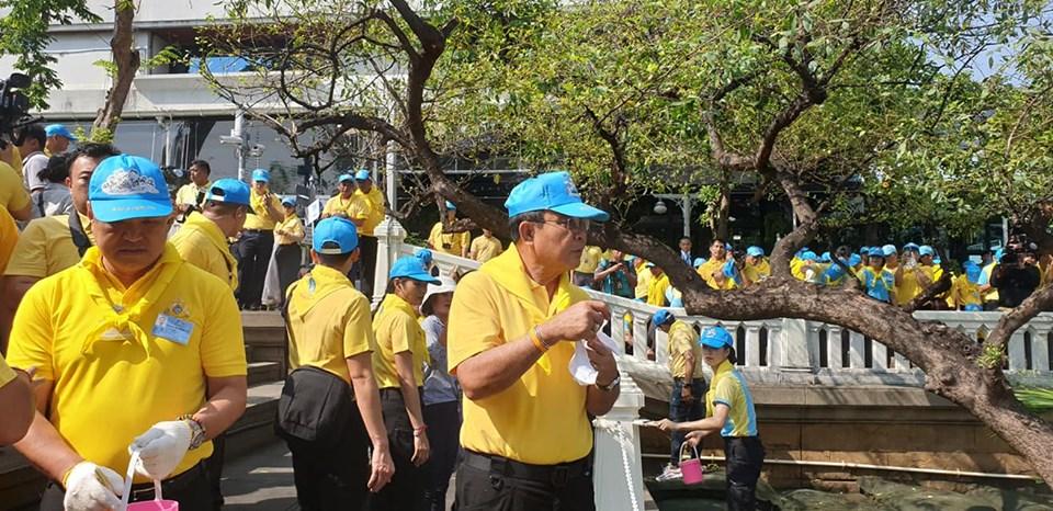 นายกฯ เชิญชวนปชช.ร่วมจิตอาสาทำบ้านเมืองสะอาด ถวายงานพระราชพิธีราชาภิเษก