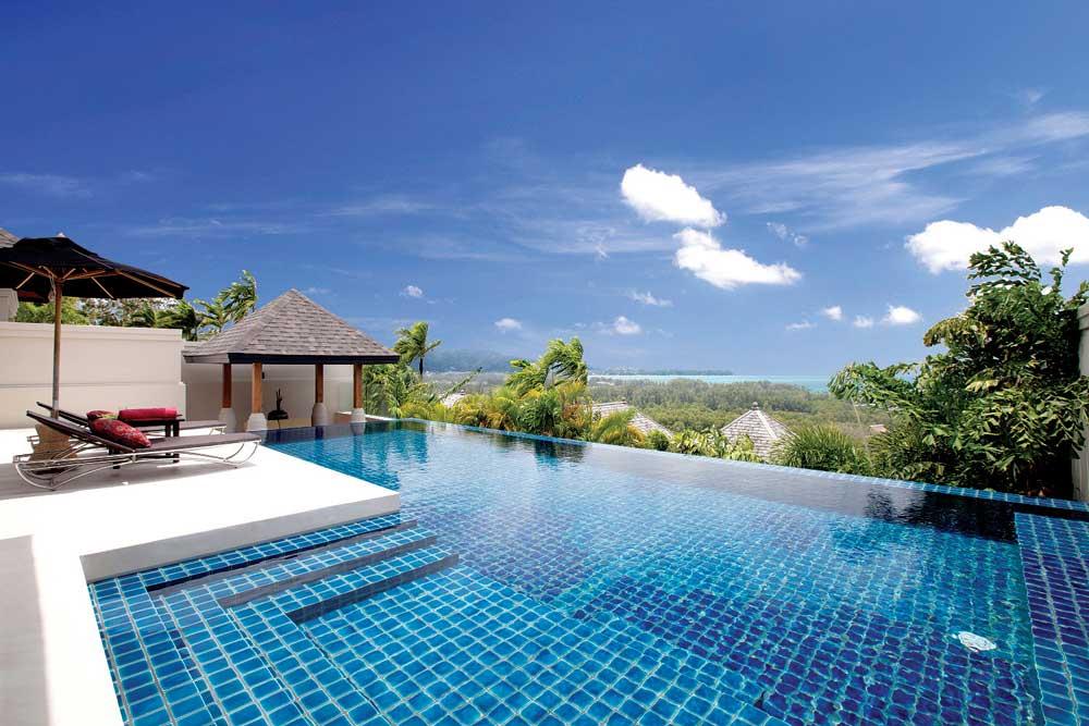 บรรยากาศห้องพัก Ocean View Pool Villa