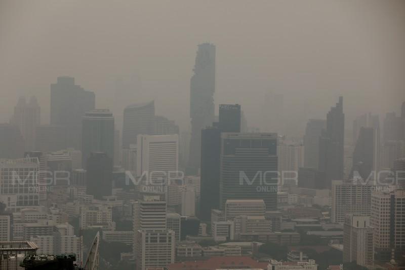 """""""อัศวิน"""" เตรียมทดลองติดตั้งหอฟอกอากาศ  หวังลดฝุ่นมลพิษ PM 2.5"""