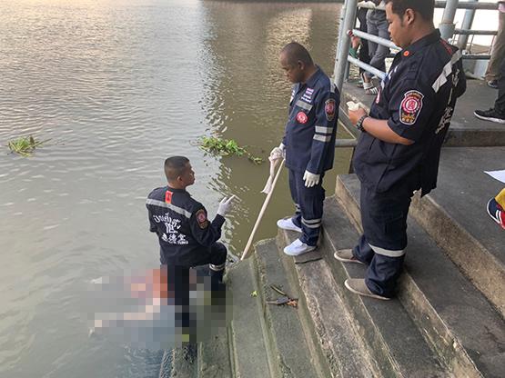 พบศพชายวัยกลางคนลอยอืดแม่น้ำเจ้าพระยา