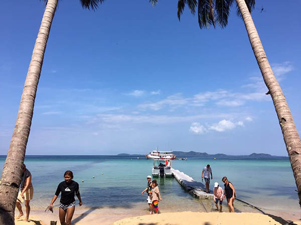 เกาะช้างและแหล่งท่องเที่ยวใน จ.ตราด พร้อมรับฤดูท่องเที่ยวแล้วหลังผ่านอุทกภัยใหญ่