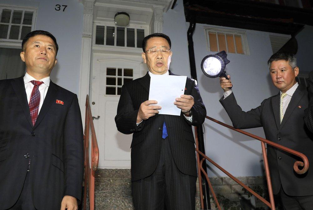 เจรจาอเมริกา-เกาหลีเหนือล่มอีก โสมแดงโบ้ยมะกันไม่สร้างสรรค์