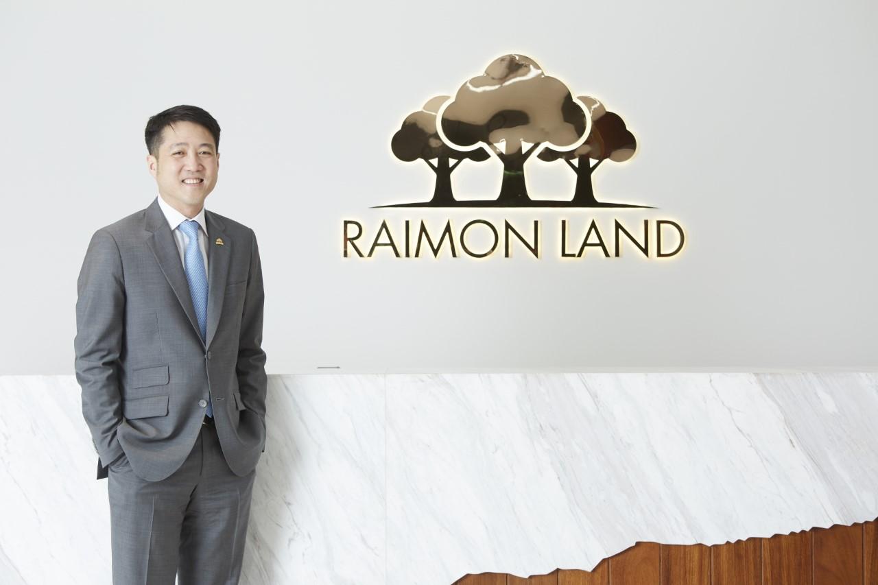 นายไลโอเนล ลี ประธานเจ้าหน้าที่บริหาร บริษัท ไรมอน แลนด์ จำกัด (มหาชน) หรือ RML