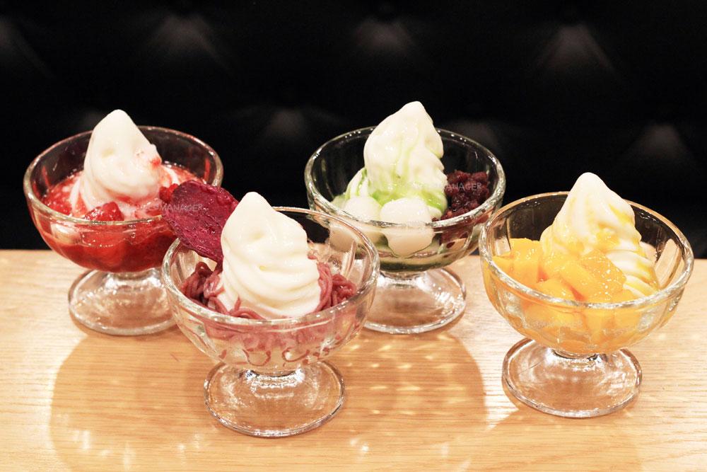 ไอศกรีมซอฟท์เสิร์ฟหลากรสชาติ