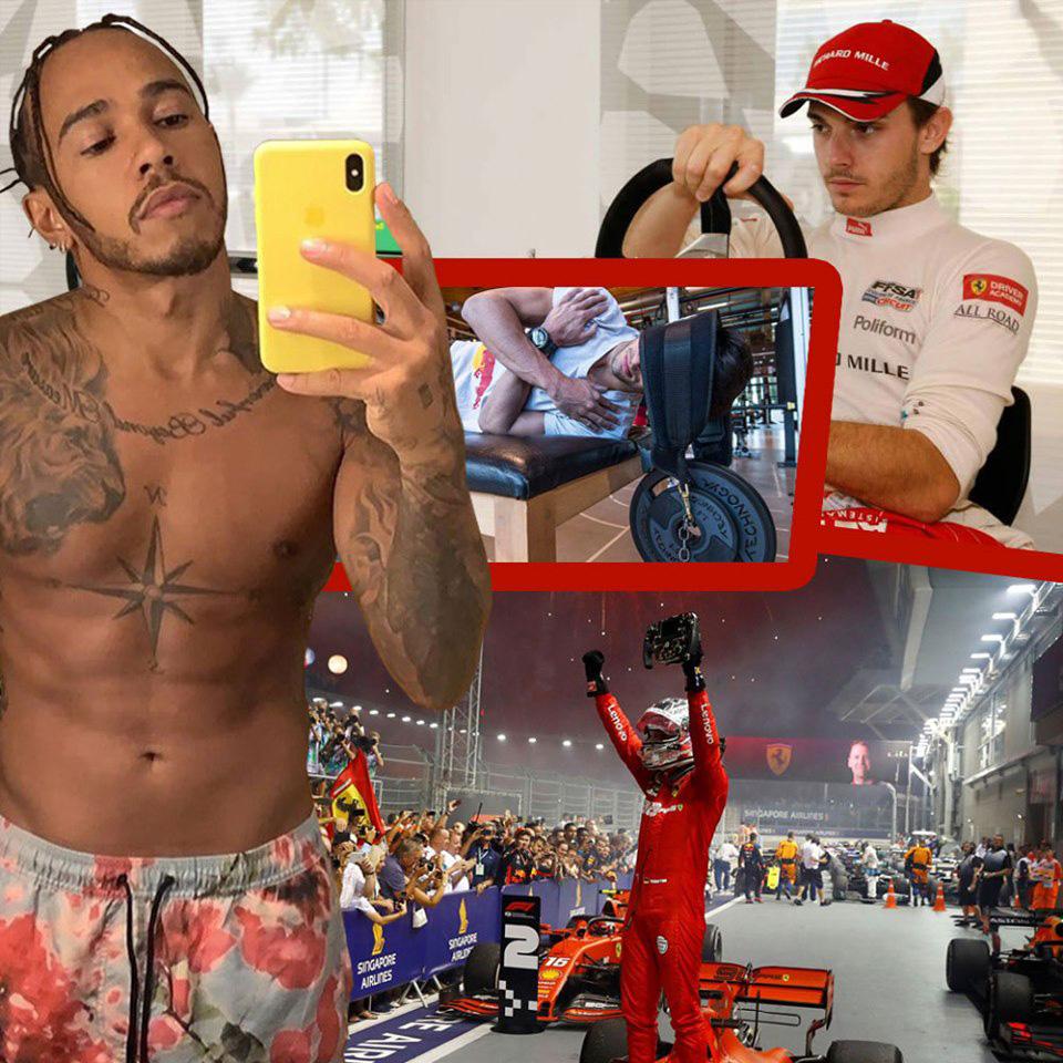 หลักสูตรเหนือมนุษย์ ฟิตร่างนักขับ F1 ไม่แกร่งเตรียมตัวตาย