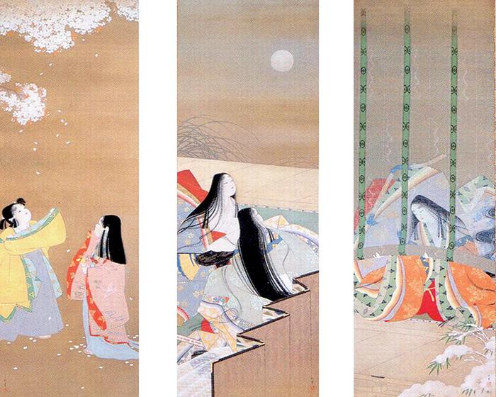 """""""หิมะพระจันทร์ดอกไม้"""" (ดูจากขวาไปซ้าย)"""