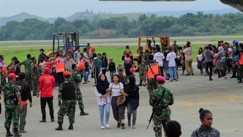 """ชาวบ้านกว่า 16,000 คนหนี """"ความไม่สงบ"""" ในปาปัวของอินโดนีเซีย"""