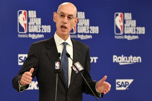 """อยากแบนก็เชิญ """"NBA"""" ไม่แคร์สูญเงินล้าน หนุน """"ผจก.จรวด"""" เต็มที่ยืนฝั่งฮ่องกง"""