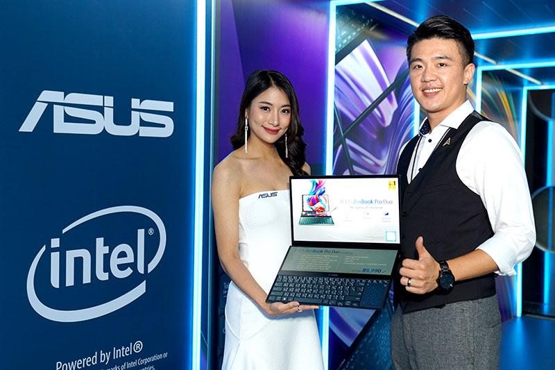 'เอซุส' เริ่มขายโน้ตบุ๊ก 2 จอ ZenBook Duo