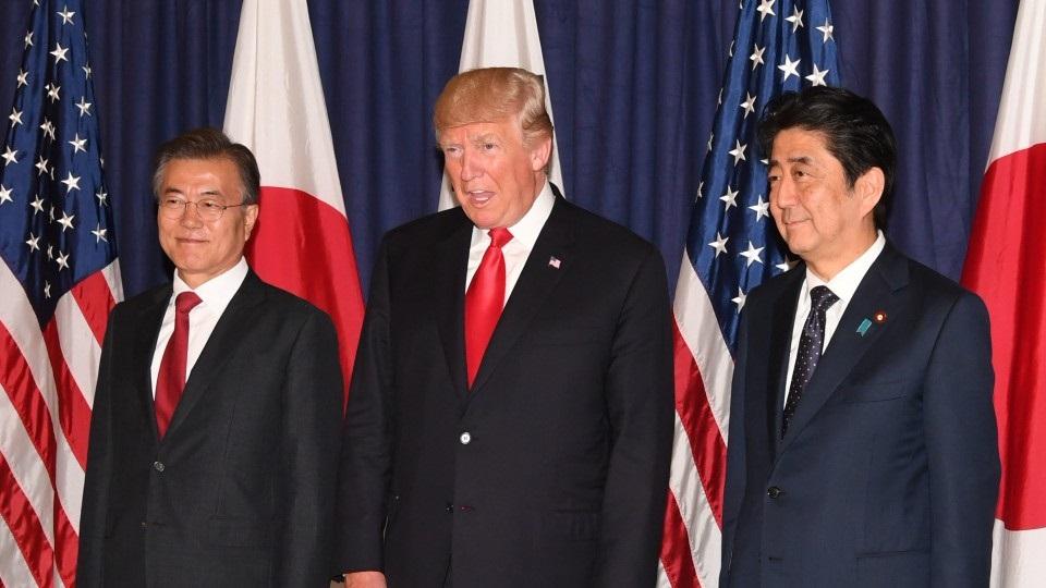 สหรัฐฯ เกาหลีใต้ ญี่ปุ่นหารือปลดนิวเคลียร์โสมแดงที่วอชิงตัน หลังเจรจาล่าสุดล่ม