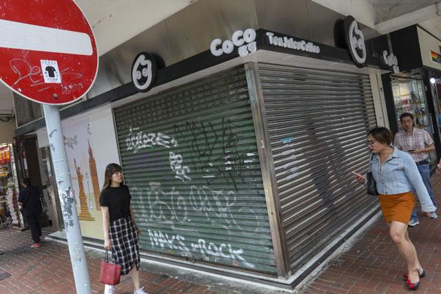 ประท้วงฮ่องกง: ธุรกิจโหรงเหรง หลายพันคนไม่มีงานทำแล้ว