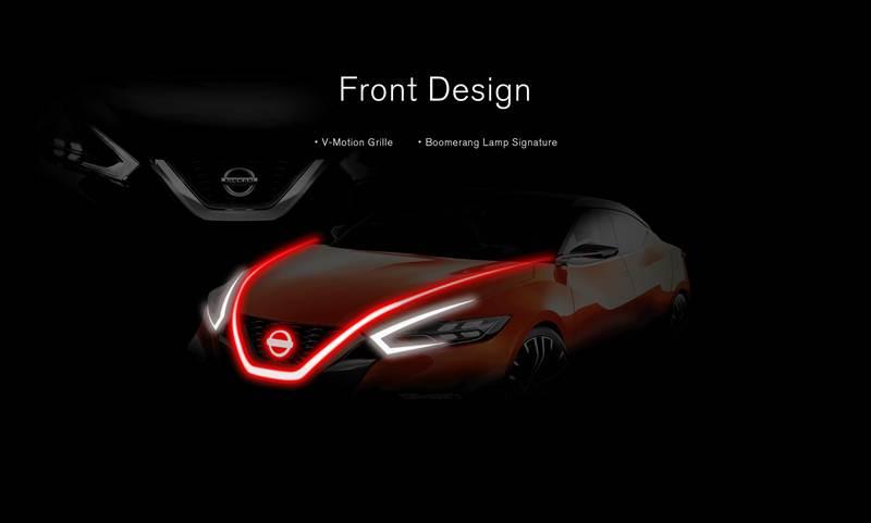 การออกแบบด้านหน้า – กระจังหน้าวี-โมชั่น และไฟหน้าแบบบูมเมอแรงที่เป็นเอกลักษณ์
