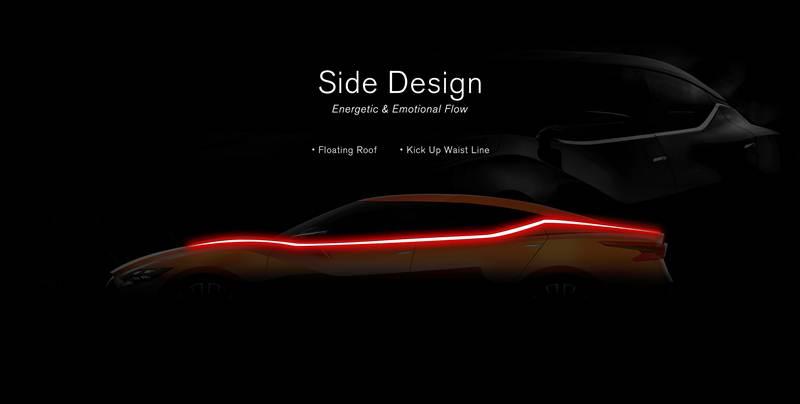 การออกแบบด้านข้าง – ลายเส้นที่มีพลัง และเร้าอารมณ์