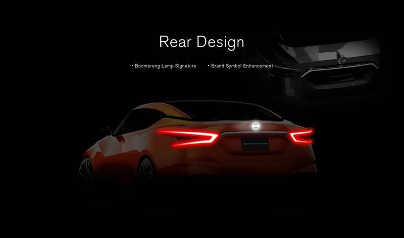 การออกแบบด้านหลัง – ไฟท้ายแบบบูมเมอแรงอันเป็นเอกลักษณ์ พร้อมเพิ่มความโดดเด่นของสัญลักษณ์  แบรนด์นิสสัน