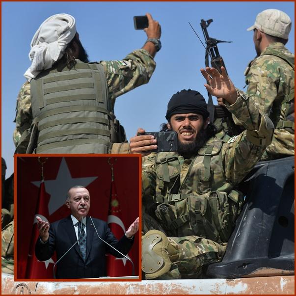 InPics&Clip: แอร์โดอันประกาศ สังหารติดอาวุธไป 109 คน หลังเคลื่อนกำลังเข้าตะวันออกเฉียงเหนือของซีเรีย
