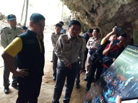 """""""วราวุธ""""ย้ำพัฒนาถ้ำหลวงเชิงอนุรักษ์ ไฟเขียวเปิดให้นักท่องเที่ยวเข้าโถงแรกได้แล้ว"""
