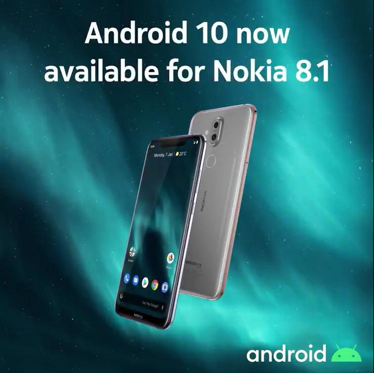 Nokia 8.1 ขึ้นแท่นรุ่นแรกอัปเกรด Android 10 ใหม่ล่าสุด