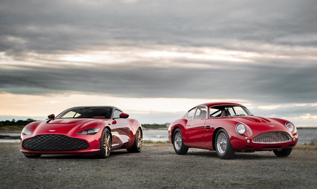 Aston Martin DBS GT Zagato&DB4 คู่นี้ 200 ล้านบาท
