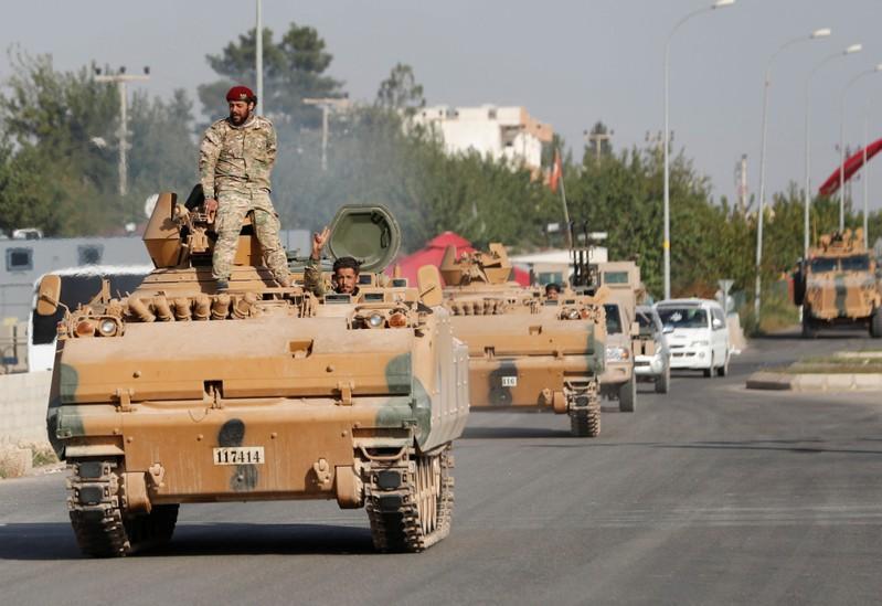 ตุรกีถล่มกองกำลังเคิร์ดในซีเรียเป็นวันที่ 3 ยอดตายเพิ่มต่อเนื่อง