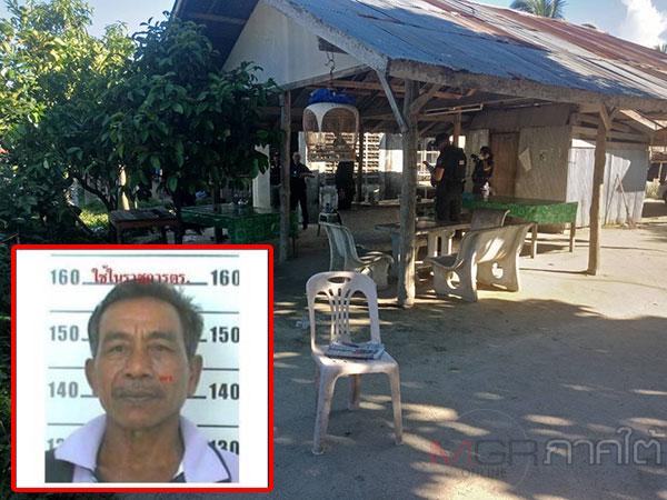 อุกอาจ! คนร้ายจ่อยิงอดีตผู้ใหญ่บ้านปัตตานีต่อหน้าชาวบ้านขณะนั่งในร้านน้ำชาเสียชีวิต