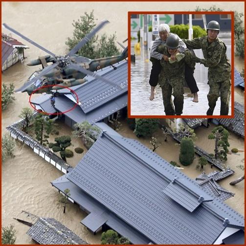 "In Pics&Clip: ญี่ปุ่นสุดอ่วม ""ไต้ฝุ่นฮากิบิส"" คร่าชีวิตไปแล้วไม่ต่ำกว่า 11 ""เรือคาร์โกติดธงชาติปานามา"" ล่ม"