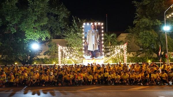 พสกนิกรชาวไทยทุกพื้นที่ในภาคกลาง พร้อมใจสวมใส่เสื้อเหลืองร่วมกิจกรรมเนื่องในวันคล้ายวันสวรรคต 13 ตุลาคม