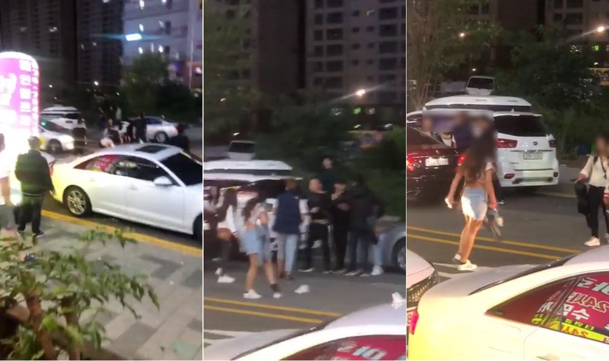 """เสื่อมข้ามแดน! สาวไทยตบกันกลางถนนที่เกาหลี อ้าง """"อันนี้ผัวหนู"""""""