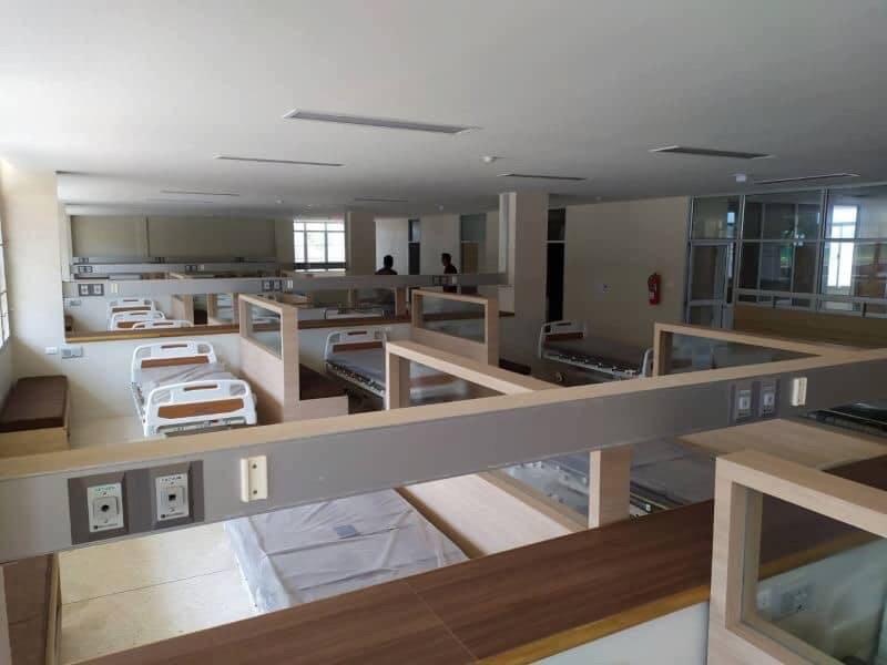 ตอบแทนประชาชน! รพ.คูเมือง จ.บุรีรัมย์ เผยห้องพักผู้ป่วยสุดสวยจากเงินบริจาค