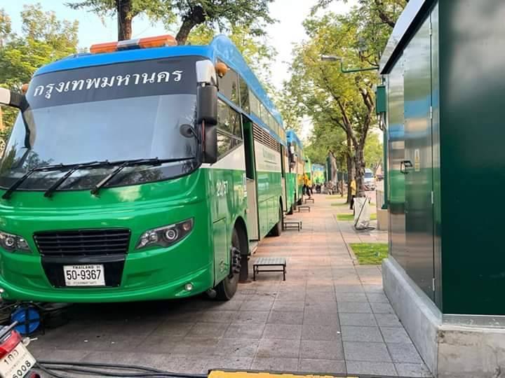 กทม.จัดรถสุขา-เทศกิจดูแล ปชช.ร่วมรับเสด็จฯ เลียบพระนครทางชลมารค