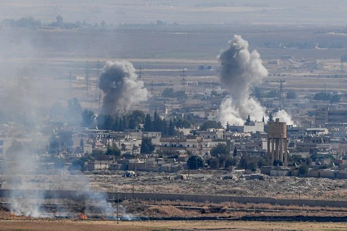 กองกำลังเคิร์ดหันจับมือรบ.ซีเรียต่อต้านทัพตุรกี   'อัสซาด-อิหร่าน-รัสเซีย'ผงาด'สหรัฐฯ'ปิ๋ว'