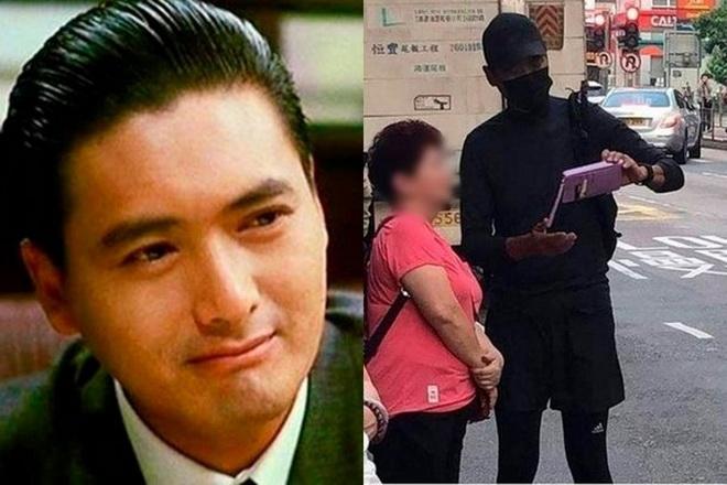 """จริงหรือมั่ว? สื่อเกาหลีอ้าง """"โจวเหวินฟะ"""" แต่งชุดดำร่วมประท้วง"""