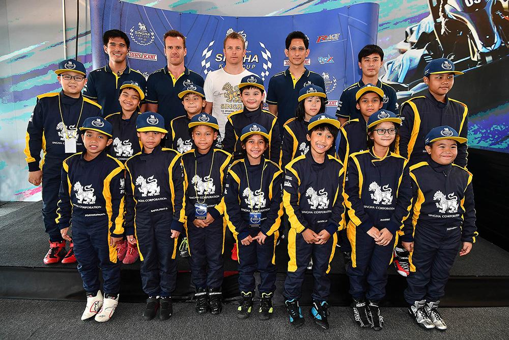 """""""คิมิ ไรโคเนน"""" ติวเข้มเด็กไทย สร้างแรงบันดาลใจสู่นักขับระดับโลก"""