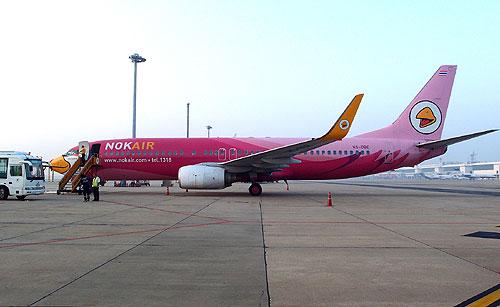 """""""นกแอร์""""ผ่านฉลุย! ตรวจสอบเครื่องบินโบอิ้ง 737-800   ไร้ปัญหา"""