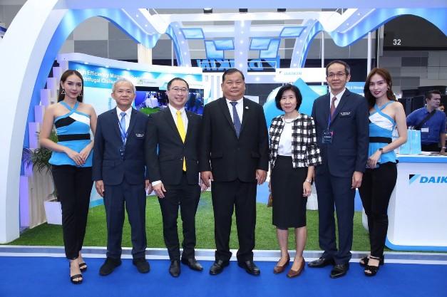 """""""ไดกิ้น"""" ร่วมโชว์สุดยอดนวัตกรรมความเย็น ในงาน Bangkok RHVAC 2019 และงาน Bangkok E&E"""