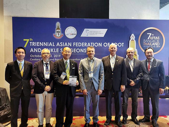 ไทยเป็นเจ้าภาพประชุม AFFAS2019 รวมศัลยแพทย์ออร์โธปิดิกส์ชื่อดังจาก 30 ประเทศทั่วโลก