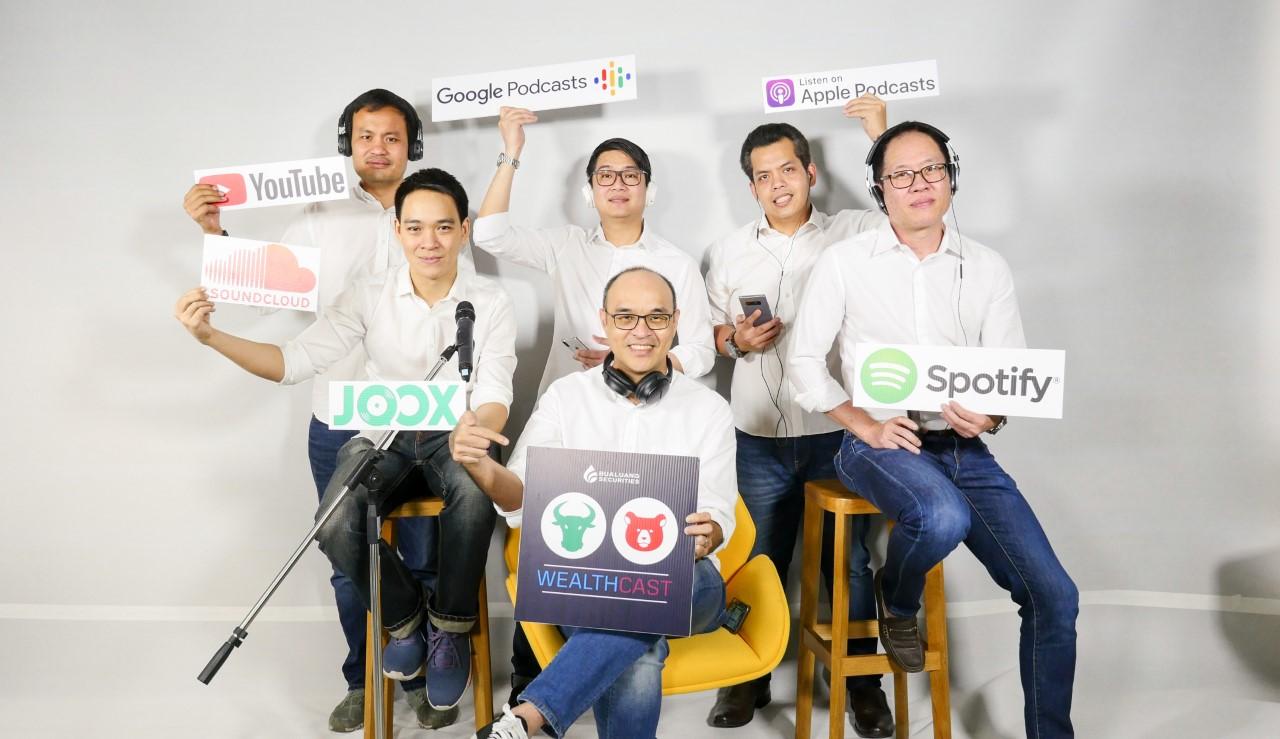 """บล.บัวหลวง เปิดช่องทางส่งความรู้การลงทุนผ่าน Podcast ในชื่อ """"Bualuang Wealthcast"""""""