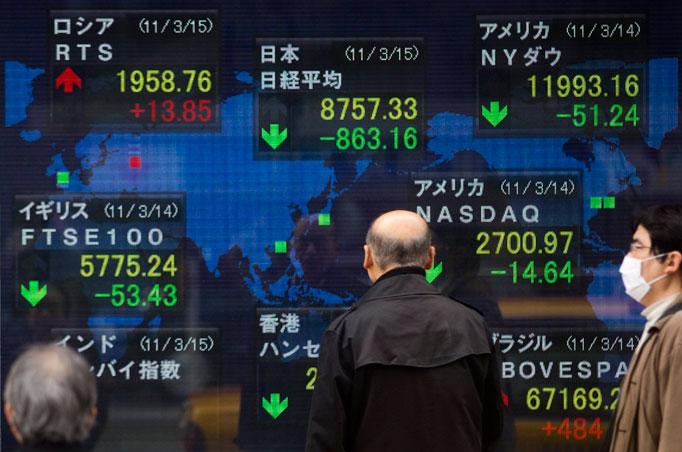 ตลาดหุ้นเอเชียผันผวน วิตกยอดค้าปลีกสหรัฐหดตัว,ความสัมพันธ์จีน-สหรัฐตึงเครียด