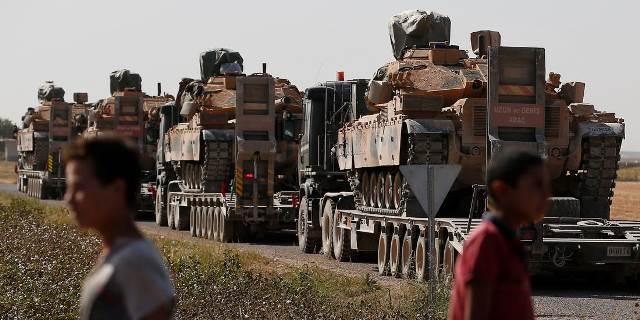 """ทัพตุรกียึดพื้นที่ใน """"เมืองสำคัญ"""" บริเวณชายแดนซีเรียได้แล้ว"""