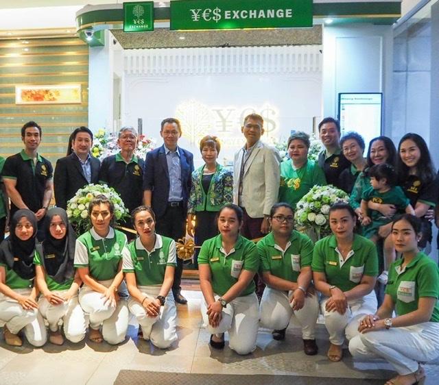 ร่วมแสดงความยินดีเปิดบริษัท Yes Exchange