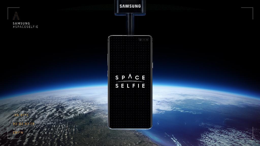 ซัมซุง ชวนคนไทยส่งภาพ 'เซลฟี่' ออกไปนอกโลกกับ Galaxy S10 5G