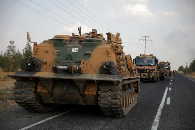 ตุรกีขู่คืนชีพปฏิบัติการถล่มเคิร์ดในซีเรีย ขีดเส้นตายถอนกำลังพ้นเซฟโซนใน5วัน