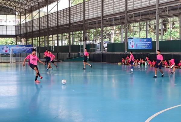 กลุ่มไทยออยล์ จับมือสโมสรฟุตซอล พีทีที บลูเวฟ ชลบุรี  เสริมทักษะให้กับเยาวชนรอบกลุ่มไทยออยล์